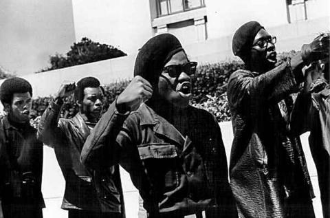 Black Power militanten