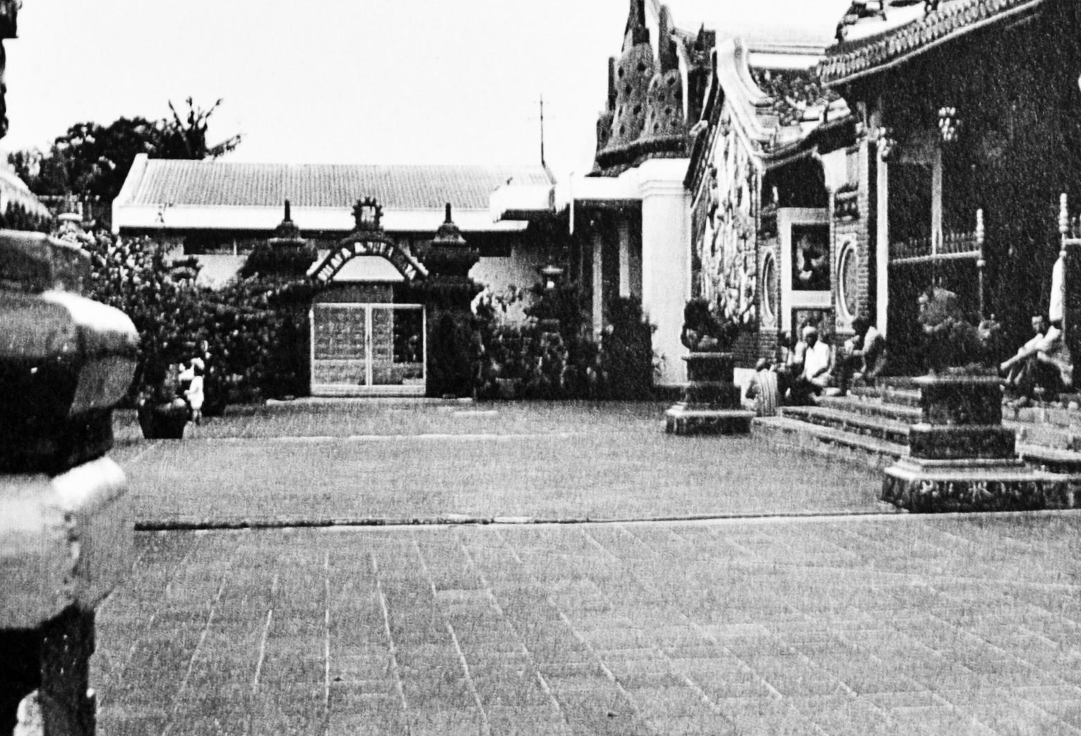 Chinese Temple in Indonesie training area